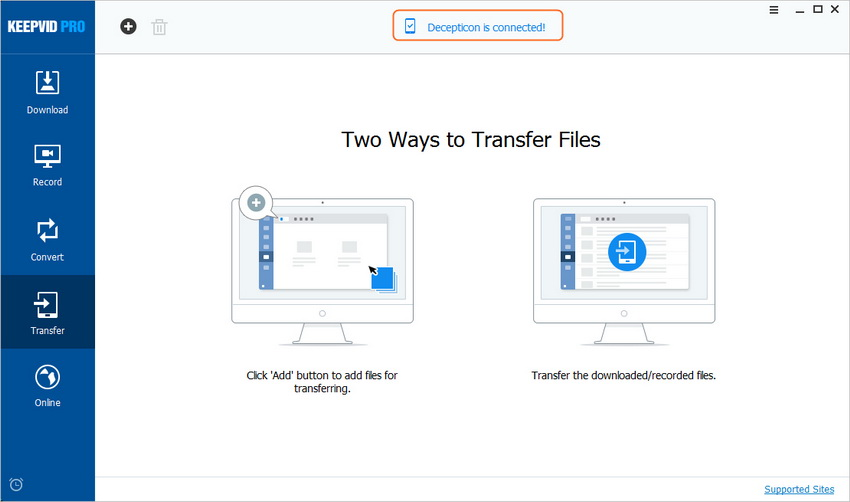 Transfer Videos to Mobile Device - Connect Device to Computer