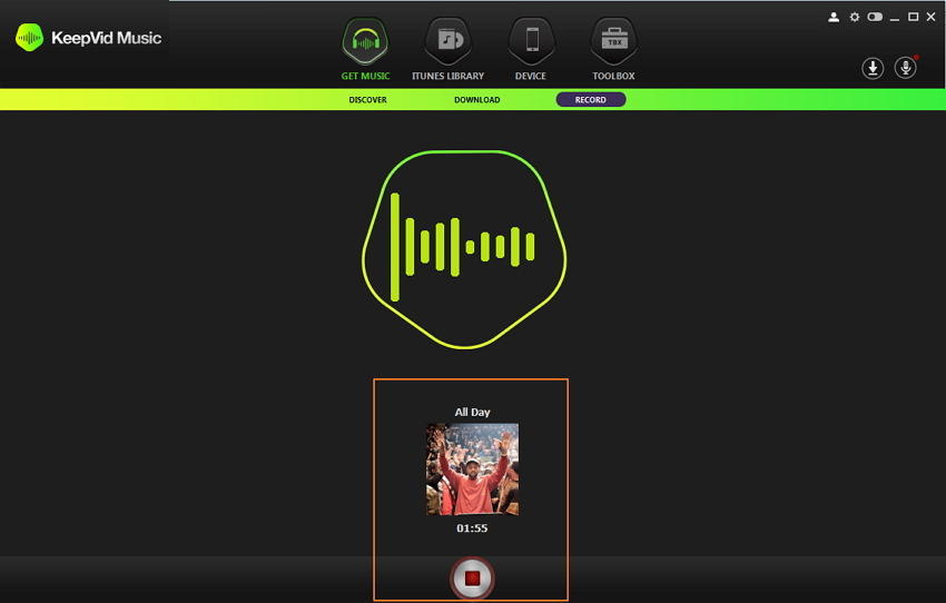 download deezer songs- - step 2: get album cover automatically
