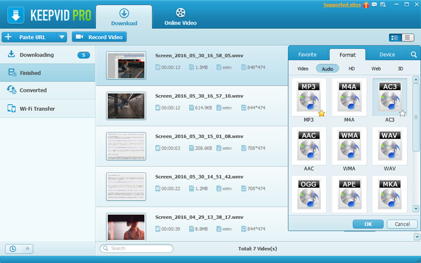 Download Family Songs for Slideshow Making - Convert Videos to MP3